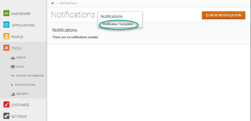 Tips and Tricks – Notification Templates