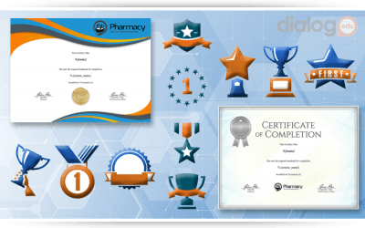 The Benefits of Achievement Badges and Certificates in a Learning Management System