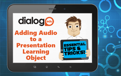 Tips and Tricks – Adding Audio to a Presentation Learning Object
