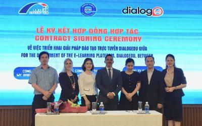El histórico acuerdo tripartito marca un hito crítico para el aprendizaje electrónico en Vietnam